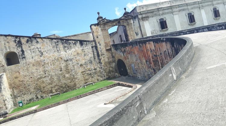 Rampe d'accès de la forteresse El Morro