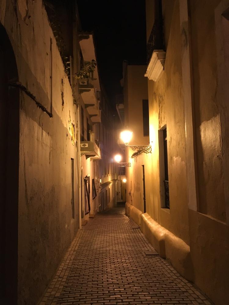 Ruelle du Vieux San Juan, Porto Rico.