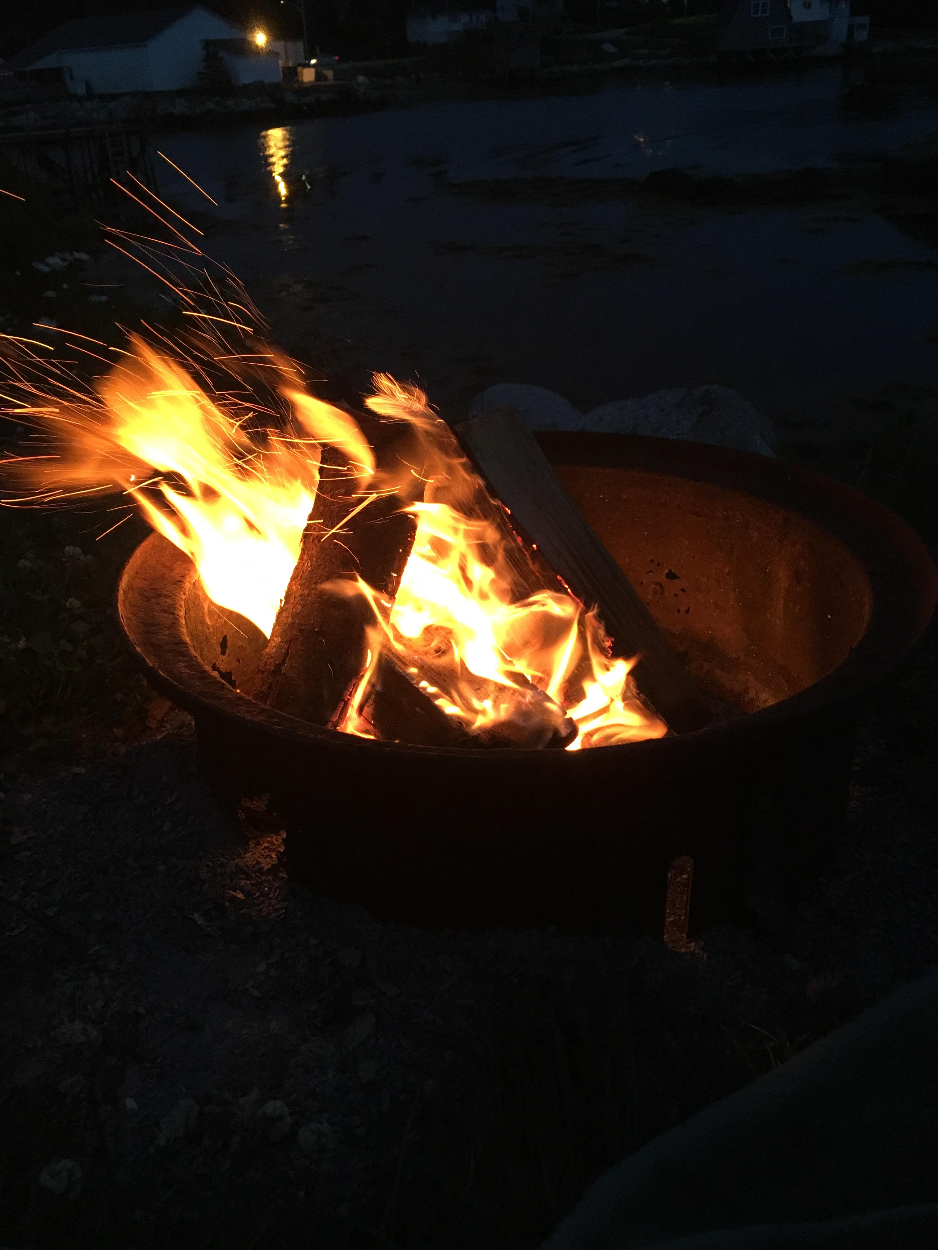fire-camping-nova-scotia
